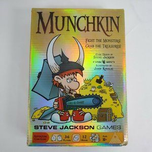 Munchkin Adventure Card Game by Steve Jackson